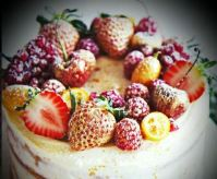 fruit gateaux